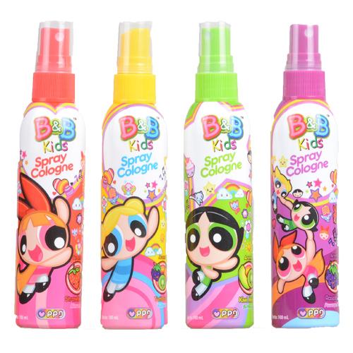 B&B Kids Spray Cologne Powerpuff Girls | Citra Sukses ...