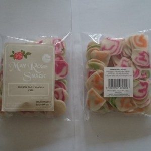 MAY ROSE - RAINBOW GARLIC CRACKER
