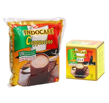 indocafe capucino display