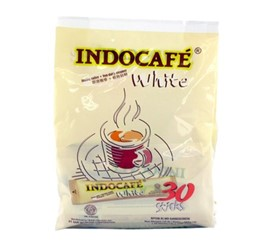 indocafe white display