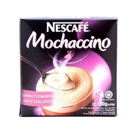 nescafe 3 in 1 mochaccino display
