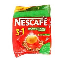nescafe 3 in 1 rich n strong display