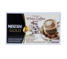 nescafe gold white coffee display
