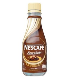 nescafe smoovlatte display