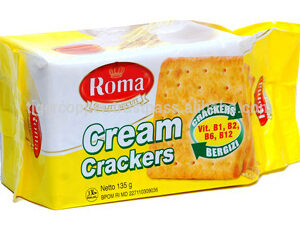roma cream crackers