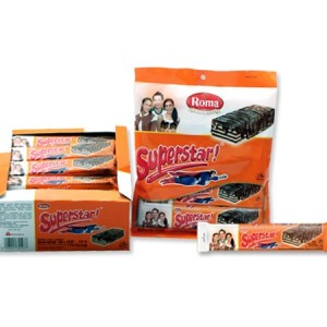 superstar coklat wafer