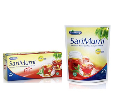 teh sari murni - display