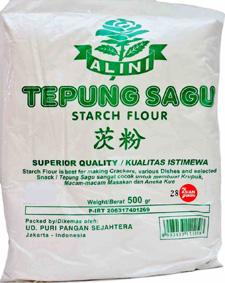 tepung sagu alini