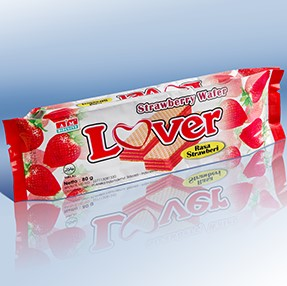 wafer lover strawberry